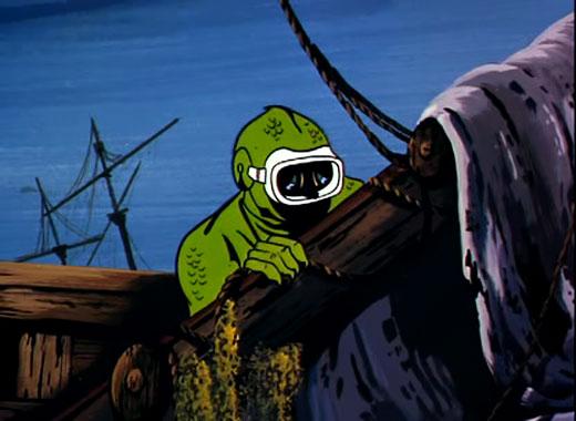 Jonny Quest S01E01: Le mystère des hommes-lézards (1964)