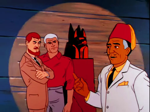 Jonny Quest S01E03: La malédiction d'Anubis (1964)