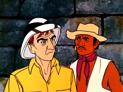Jonny Quest S01E06: Le trésor du temple (1964)