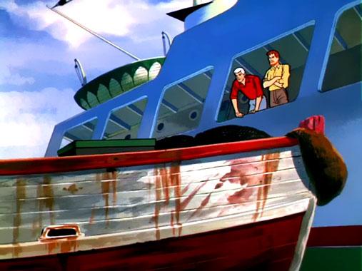 Jonny Quest S01E11: Crâne et tibias croisés (1964)