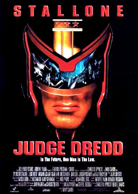 Judge Dredd, le film de 1995
