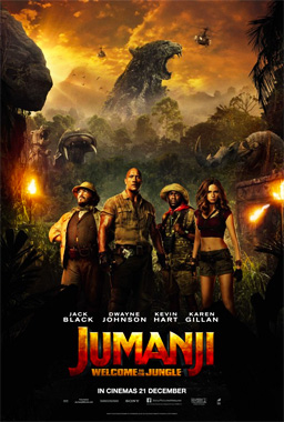 Jumanji: Welcome To The Jungle, le film de 2017