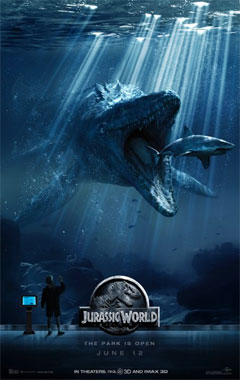 Jurassic World, le film de 2015 poster