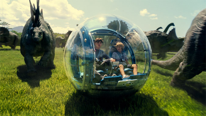 Jurassic World, le film de 2015