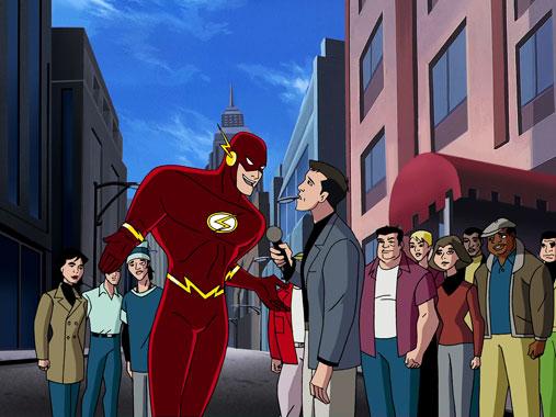La ligue des Justiciers S01E01-02-03: L'invasion 2001