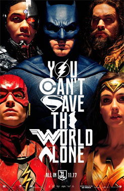 Justice League, le film de 2017