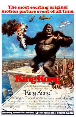 King Kong, le film de 1976