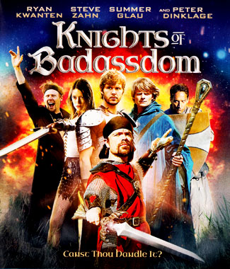 Knights of Badassdom (2014), le blu-ray américain de 2014.