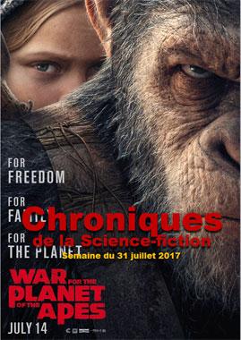 Chroniques de la Science-Fiction Année 2017, Numéro 31