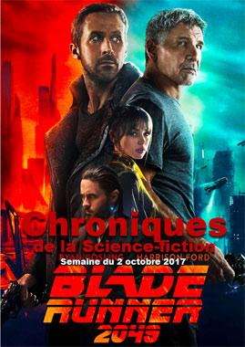 Chroniques de la Science-fiction, Année 2017 numéro 40 - Semaine du lundi 2 octobre 2017