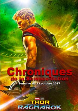 Chroniques de la Science-fiction, Année 2017 numéro 43 - Semaine du lundi 23 octobre 2017