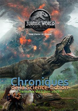 Chroniques de la Science-fiction, Année 2018 numéro 23 - Semaine du lundi 4 juin 2018
