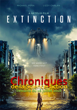 Chroniques de la Science-fiction, Année 2018 numéro 29 - Semaine du lundi 16 juillet 2018