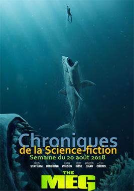 Chroniques de la Science-fiction, Année 2018, numéro 34 - Semaine du lundi 20 août 2018