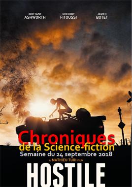 Chroniques de la Science-fiction, Année 2018, numéro 39 - Semaine du lundi 24 septembre 2018