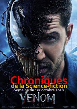 Chroniques de la Science-fiction, Année 2018, numéro 40 - Semaine du lundi 1er octobre 2018