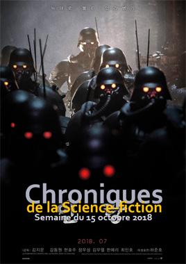 Chroniques de la Science-fiction, Année 2018, numéro 42 - Semaine du lundi 15 octobre 2018