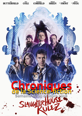 Chroniques de la Science-fiction, Année 2018, numéro 44 - Semaine du lundi 29 octobre 2018