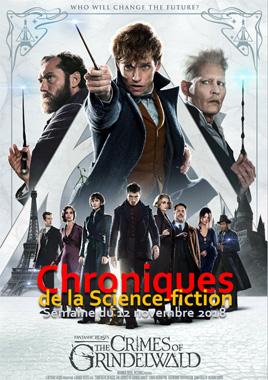 Chroniques de la Science-fiction, Année 2018, numéro 46 - Semaine du lundi 12 novembre 2018