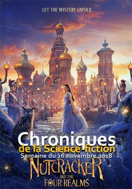 Chroniques de la Science-fiction, Année 2018, numéro 48 - Semaine du lundi 26 novembre 2018
