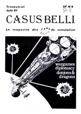 Casus Belli n°4, Claude Lacroix (Excelsior Publications 1981)
