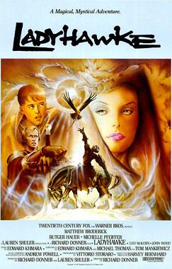 Ladyhawk, la femme de la nuit, le film de 1985