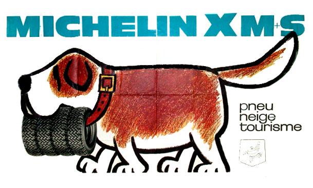 Publicité Michelin, par Yvon Le Gall