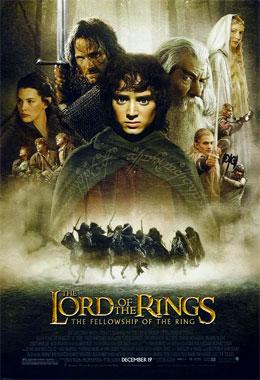 Le seigneur des anneaux 1: La communauté de l'Anneau, le film de 2001