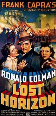 Horizons Perdus, le film de 1937 poster