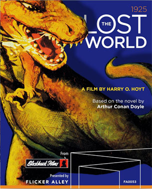 Le blu-ray americain Flicker Alley de 2017 de The Lost World (1925)