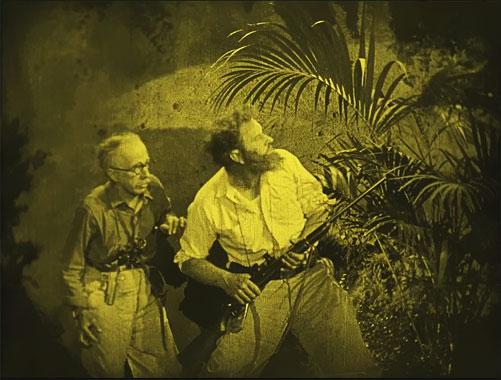 Le Monde perdu, le film de 1925