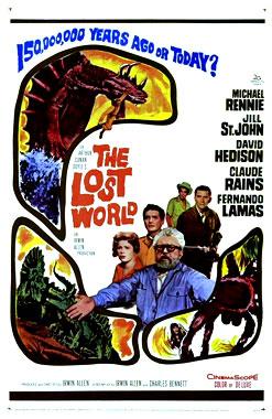 Le monde perdu, le film de 1960