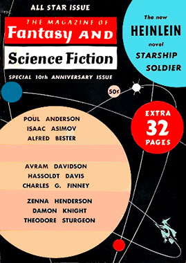 The Magazine of Fantasy and Science-fiction, le numéro de octobre 1959
