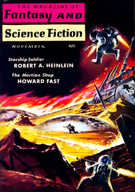 The Magazine of Fantasy and Science-fiction, le numéro de novembre 1959