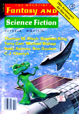 The Magazine Of Fantasy And Science-Fiction, le numéro d'octobre 1978