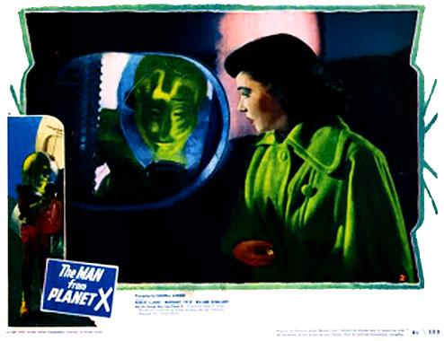 L'Homme de la planète X, le film de 1951