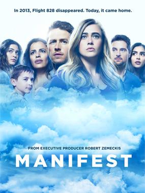 Manifest, la série télévisée de 2018.