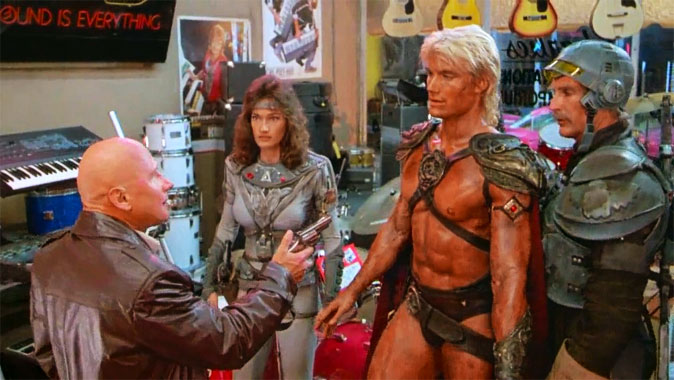 Les Maîtres de l'Univers, le film de 1987
