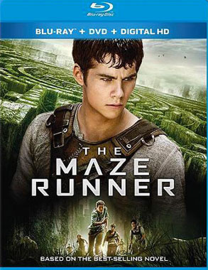 Le labyrinthe (the Maze Runner) le blu-ray américain de 2014