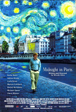 Minuit à Paris, le film de 2011