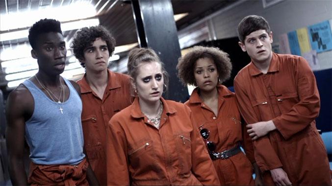 Misfits S01E01: Une journée particulière (2009)