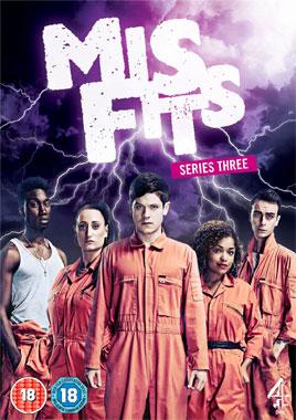 Misfits, la saison 3 de 2011 de la série télévisée de 2009