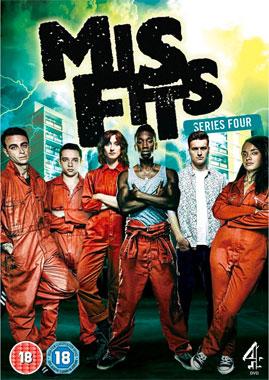 Misfits, la saison 4 de 2012 de la série télévisée de 2009