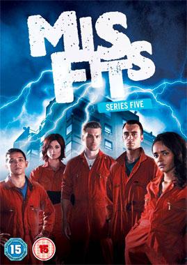 Misfits, la saison 5 de la série télévisée de 2009