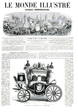 Le Monde Illustré du 7 juillet 1860