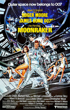 James Bond: Moonraker, le film de 1979