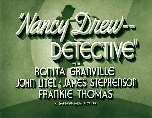 Alice (Nancy Drew), le serial de 1938