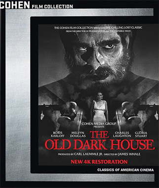 Une soirée étrange (1932, The Old Dark House), le blu-ray de 2017.