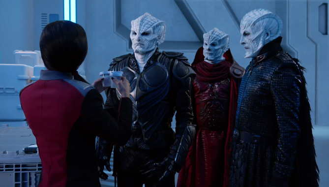 The Orville S02E10: Le sang des patriotes (2019)
