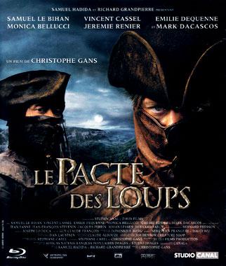 Le Pacte des loups (2001), le coffret blu-ray français de 2008